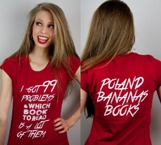 99 BOOK PROBLEMS SHIRT (LADIES)